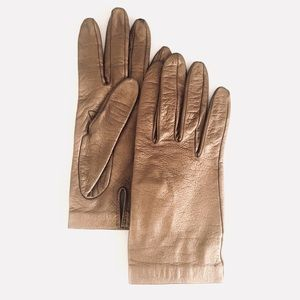 BEBE leather gloves